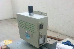 Compactor trash monitor