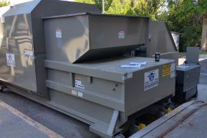 wet waste compactor
